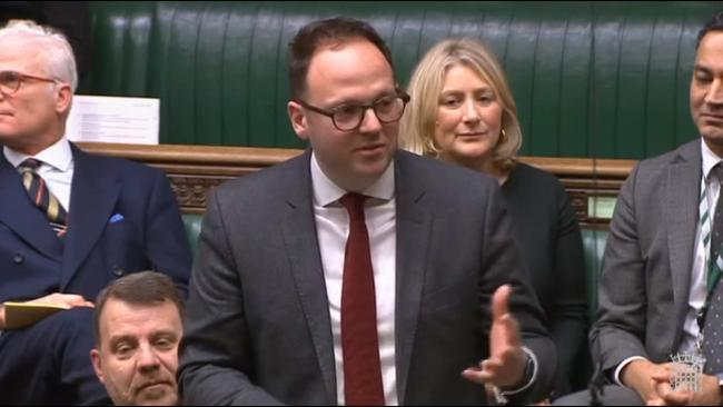 SPEECH: MP Simon Fell speaks in Parliament