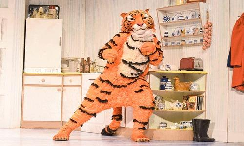 ROAR: The Tiger Who Came For Tea is based on the book of the same name