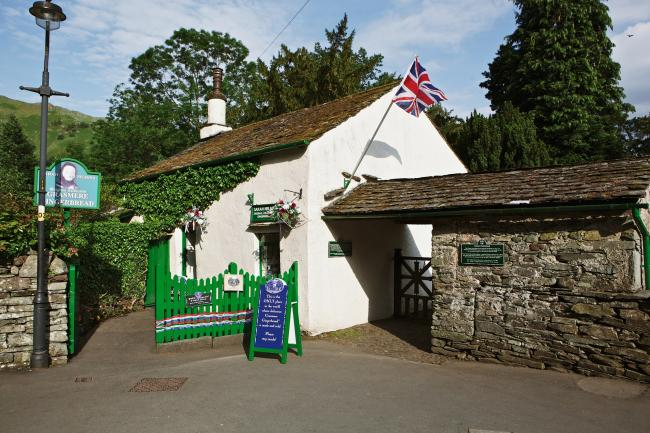 ATTRACTION: Grasmere Gingerbread shop in the Lake District, Cumbria          Picture: Cumbria Tourism