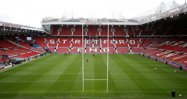 PERMISSION SOUGHT: Manchester United want to install a safe standing standing area for 1,500 fans