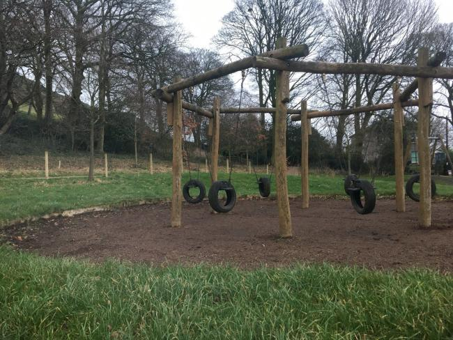 FRESH: The refreshed play area in Ford Park