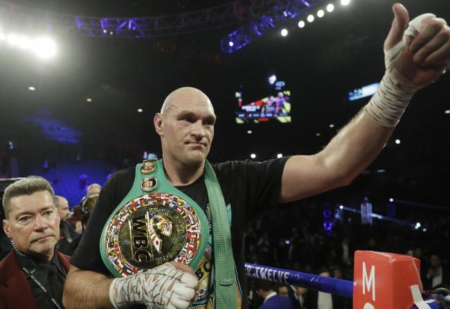 LANDMARK NIGHT: Tyson Fury gave the performance of his career in stopping Deontay Wilder