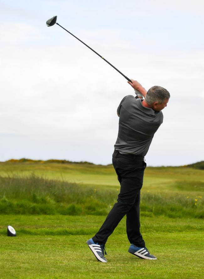 GOLF --- The Mail Men's Open at Furness Golf Club. // Pictured: Kev Dyer from Furness GC Saturday 18th May 2019 LINDSEY DICKINGS FILM AND PHOTOGRAPHY.