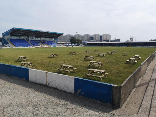 OPEN SPACE: Barrow Raiders plan to open their pitch as a giant beer garden next month