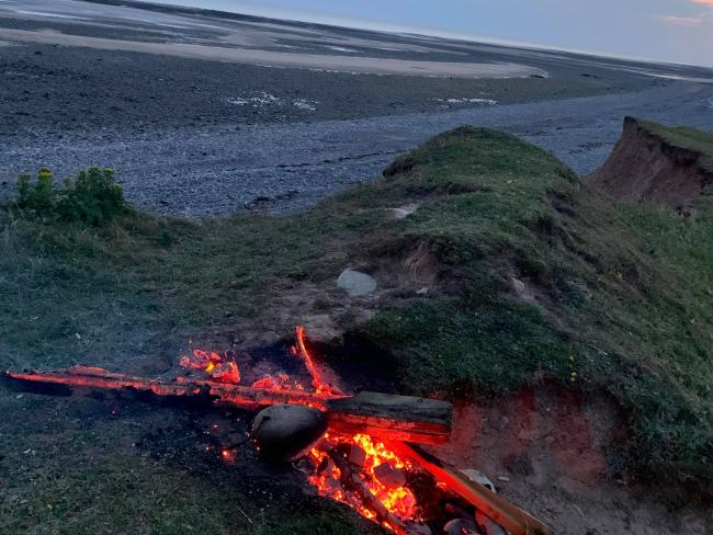 WARNING: Walney Fire Station was called out to three bonfires