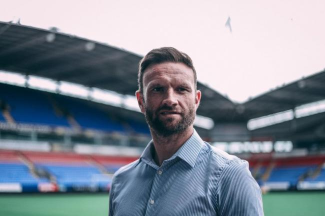 Former Barrow AFC manager Ian Evatt was unveiled at Bolton Wanderers on Wednesday