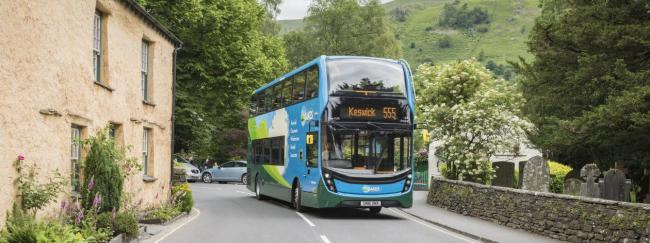 Grasmere can be reached by public transport