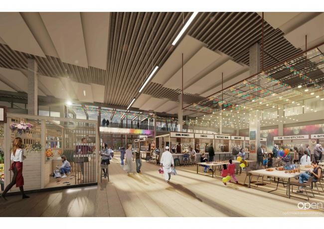 BOLD: A 3D image showing what the indoor market could like in future