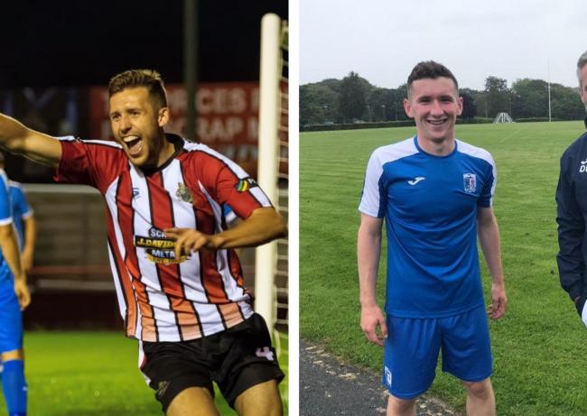 New Barrow AFC signings James Jones and Bobby Burns