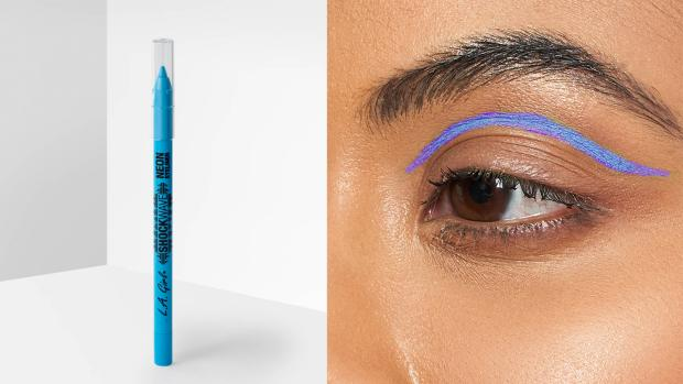 The Mail: Add some flair to your eye look with the L.A. Girl Shockwave Neon Liner. Credit: L.A. Girl