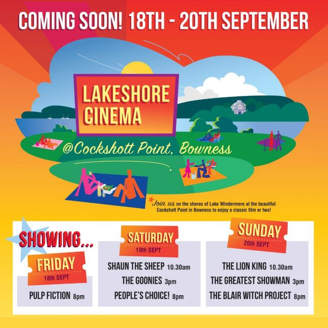 COMING: outdoor cinema in the South Lakes is coming soon...