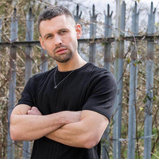 Hollyoaks' Victor (Benjamin O'Mahony) Picture: Lime Pictures