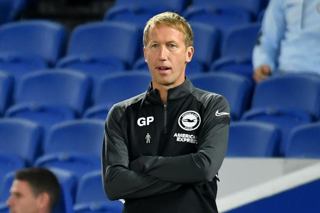 Graham Potter will make changes for Brighton's Carabao Cup clash with Portsmouth