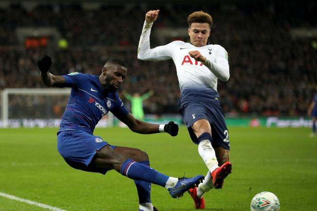Tottenham Hotspur v Chelsea – Carabao Cup – Semi Final – First Leg – Wembley Stadium
