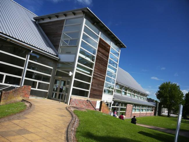 University of Cumbria main building, Brampton Road campus