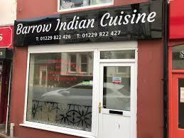 INSPECTION: Barrow Indian Cuisine in Cavendish Street has received a three in its latest hygiene rating