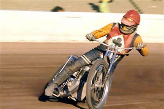 Former captain of the Belle Vue Aces, the late Alan Wilkinson (Wilkie) from Barrow, credit: Mr Steve Irving