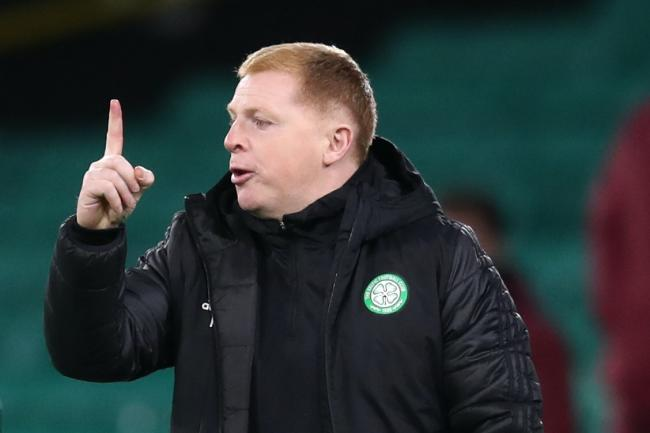 Celtic manager Neil Lennon was encouraged despite defeat in the Europa League