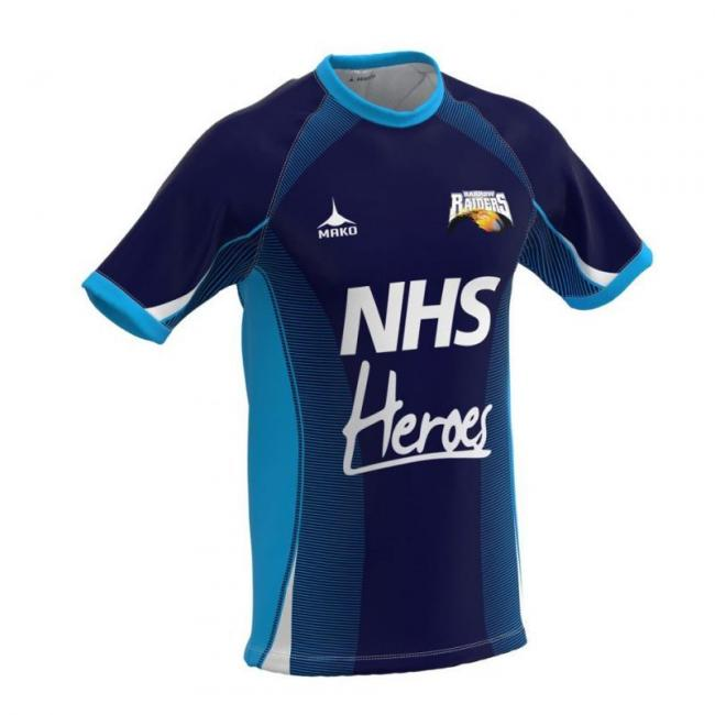 Barrow Raiders have sold thank-you NHS and key workers shirts since April.