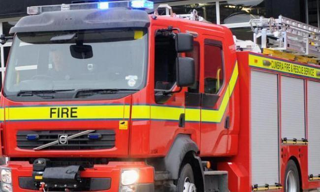Fire crews attend incident involving roof fire