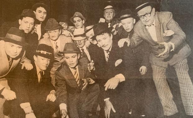 The Mail: PLAY: A scene from Guys and Dolls in 1994