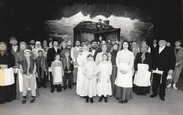 The Mail: ACTING: The cast of Fiddler on the Roof, staged by Walney Amateur Operatic Society, in 1995
