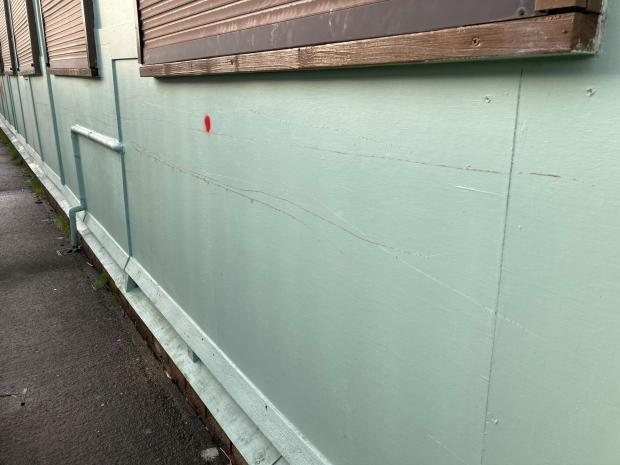 The Mail: SCRATCHES: Vandalism at North Scale Community Centre