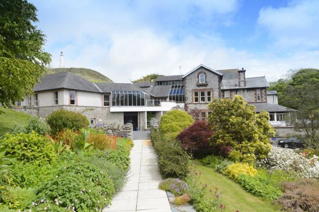 ULVERSTON: St Mary's Hospice received a donation