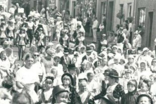 PARADING: The Dalton Carnival parade in 1992