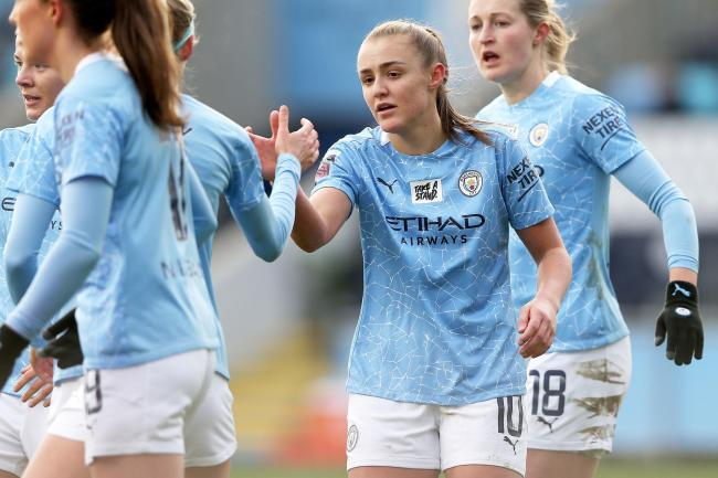 PRAISED: City's Georgia Stanway            Picture: Tim Markland/PA Wire