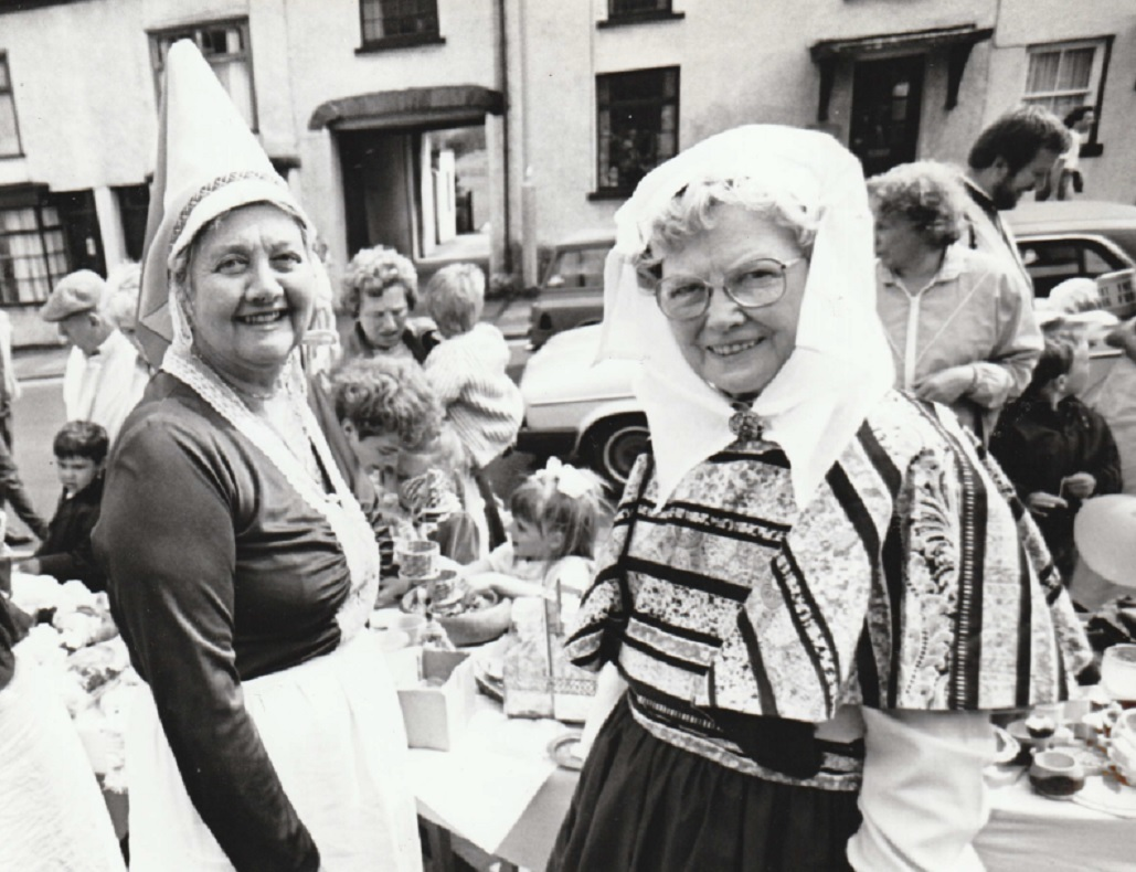 DRESSED UP: The charter celebrations in 1989