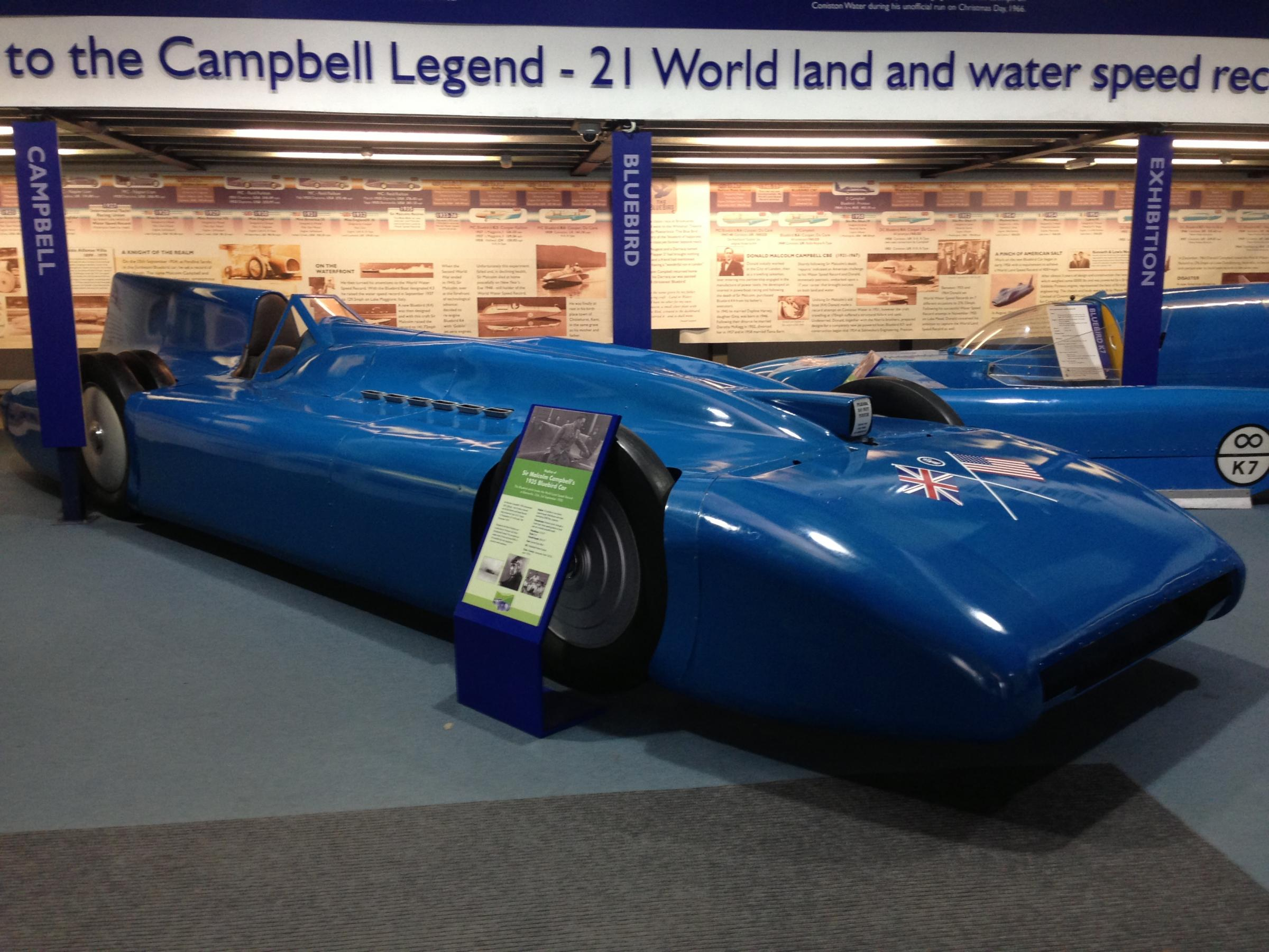 HISTORY: Sir Malcolm Campbell's 1935 Bluebird car