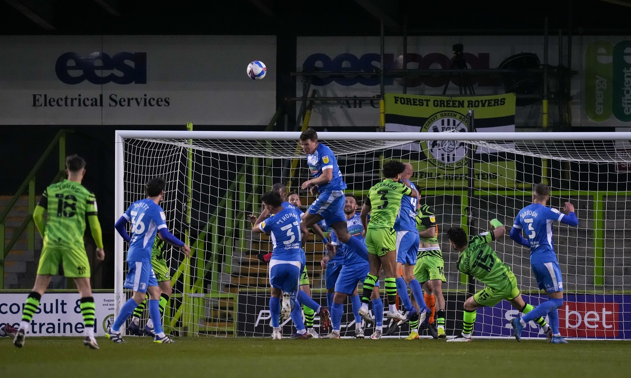 HEADER: Barrow defended resolutely throughout to frustrate Forest Green