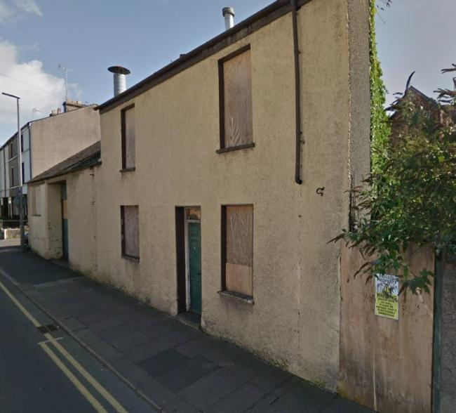 DEMOLISHED: Plans have been approved to demolish 4 Hart Street in Ulverston
