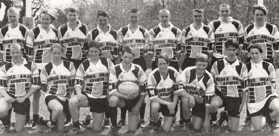 RUGBY: Ulverston Victoria High School rugby league team in 1995