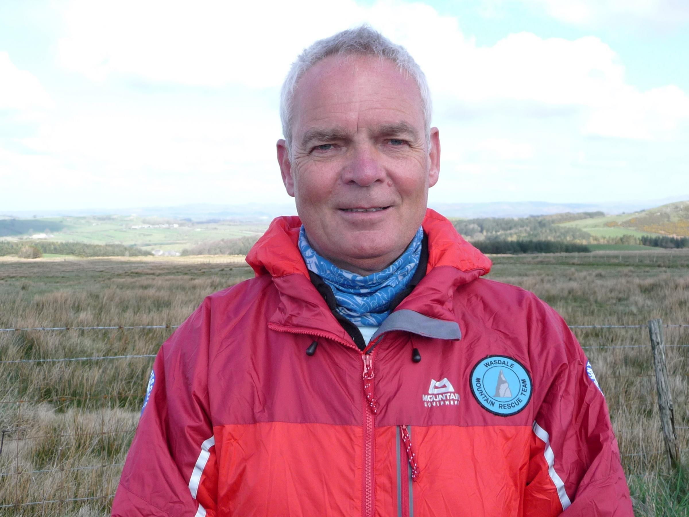 Richard Warren, chairman of the Lake District Search and Mountain Rescue Association.