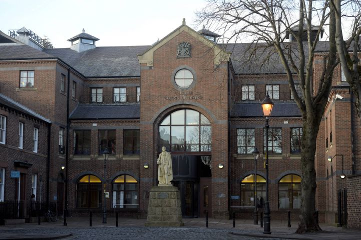 General view of Carlisle Crown Court: 1 March 2017 STUART WALKER 50087237F001.JPG