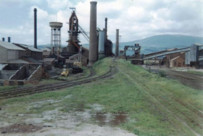 Closed down: Millom Ironworks as it looked before demolition work started to clear the site SUBMITTED norman-jun-30