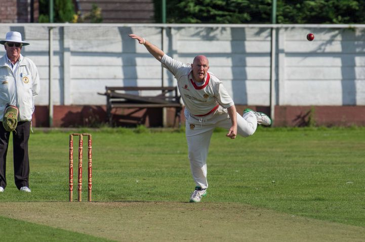 Important contribution: Gary Collins took three wickets for Barrow STEVE MILLER