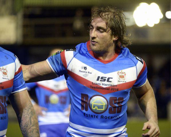 Comeback: Liam Harrison starts for Barrow Raiders JON GRANGER