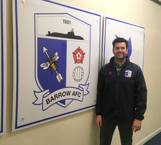 Applications coning in: Barrow AFC managing director Andrew Casson