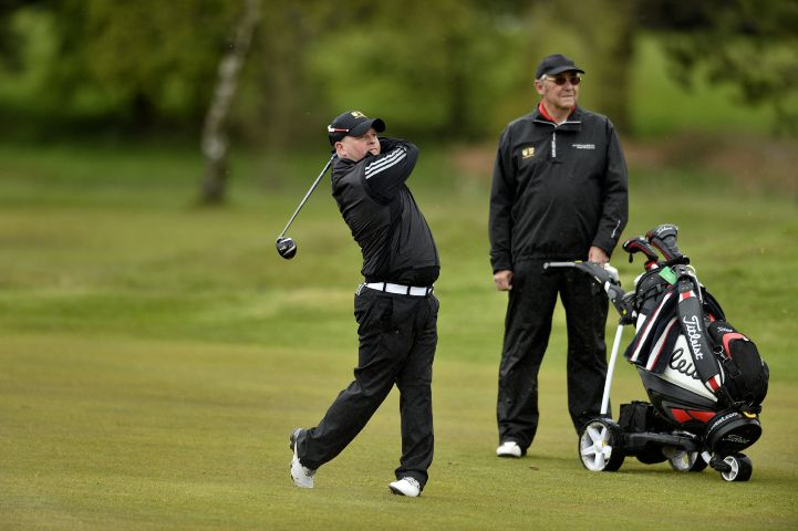 Ambition: Robbie Spence is competing in this year's Lytham Trophy STUART WALKER