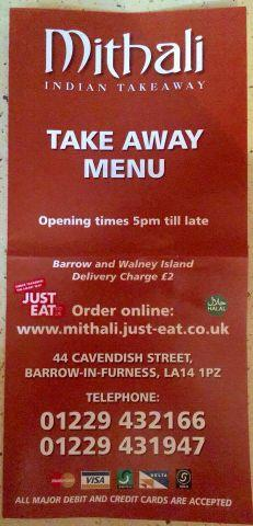 Mithalis Back Popular Indian Takeaway Returns To Barrow