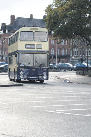 Vintage Barrow Bus Running Shuttle Service To Furness Model Railway Exhibition Bill Myers Refs90943b