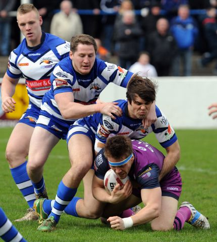 Quiz question: Barrow Raiders take on Featherstone Rovers in 2014 JON GRANGER
