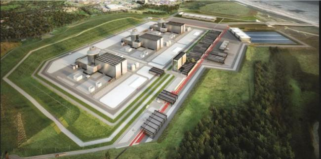 Vision: An artist's impression of the Moorside power station