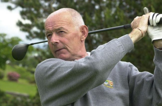 Refereeing role: Terry Rhodes will be in St Andrews for the Faldo Series next week JON GRANGER