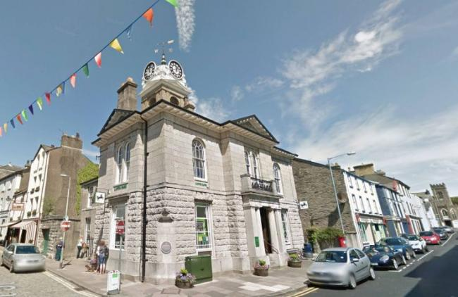 Ringing in the changes: Lloyds Bank in Ulverston, home to the town's clock
