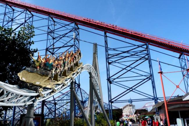 £16.25m Blackpool Pleasure Beach rollercoaster named 'Icon'