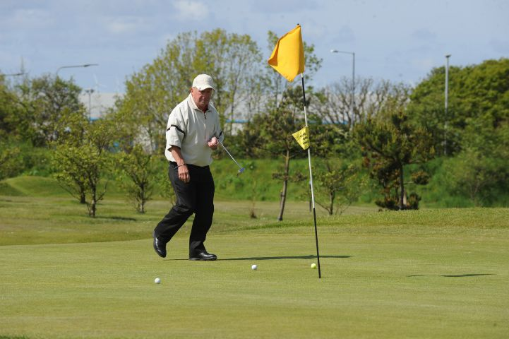 Barrow Golf Club president Bill Edwards